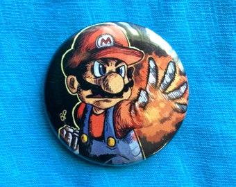 Mario - SUPER SMASH BROS. 1.5-in Button