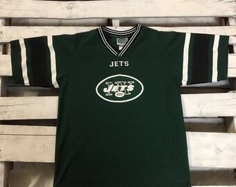 Vintage NFL New York Jets Kids Quarter Back Club Jersey