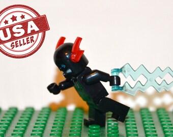Zoom Custom minifigure (Lego Compatible) DC Comics Flash Villian Hunter Zolomon Superhero Justice League of America JLA CW Christmas Gift
