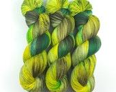 Chameleon - Merino extrafine/Polyamid superwash High Twist, handgefärbt, superweich!