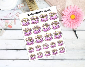 Hot Chocolate- Planner Stickers