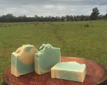 Lemon Myrtle Goat's Milk Soap
