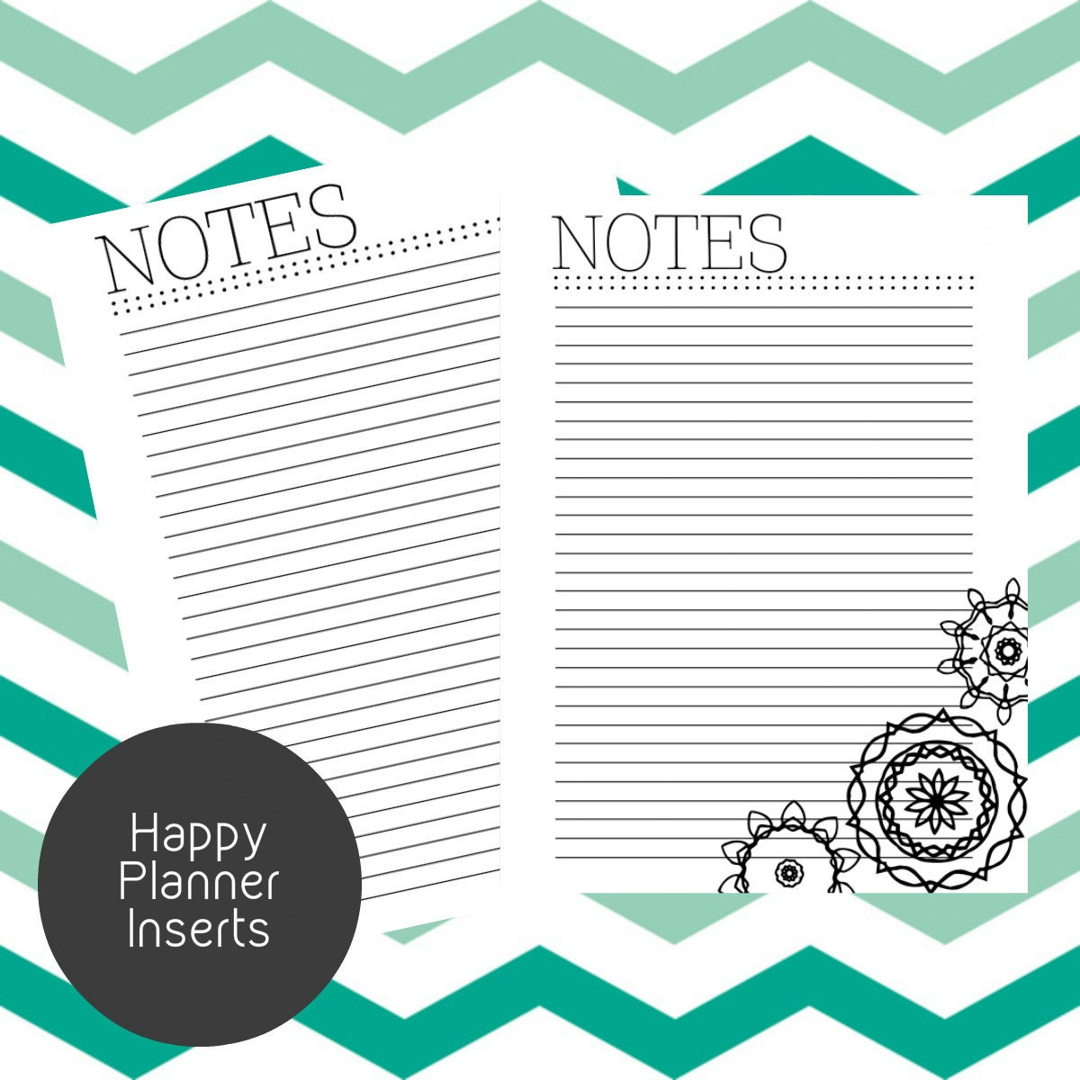 Agile image in happy planner printable inserts