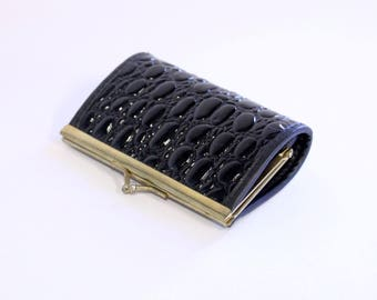 On Hold-Vintage black ladies wallet