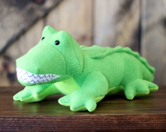 Steve the Crocodile / Alligator stuffed toy