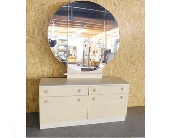 Frisier / dressing table 70 years wing mirror