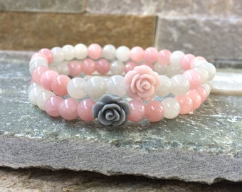 Friendship bracelets bracelet set girlfriends jade rose