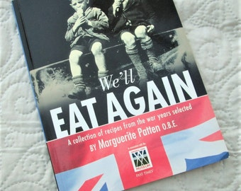 ENGLISH RECIPES, wartime food, world war II, home grown food, recipe collectors, war nostalgia, vintage cookbooks,