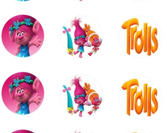 Trolls Edible Images