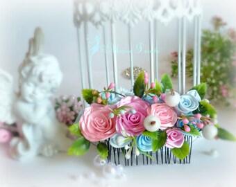 """Volos""""Nezhnost' comb roses"""""""