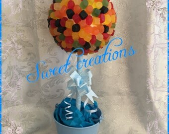 Midget gems candy sweet tree