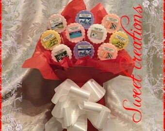 Yankee candle melt bouquet Mothers day