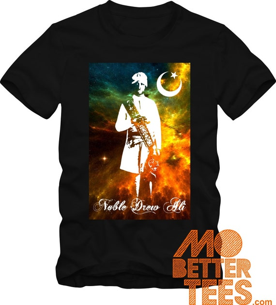 Prophet Noble Drew Ali Cosmos  black T-Shirt Comes in Adult, Youth, or Toddler