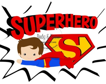 Super Man Superman  Digital Clip Art Clipart