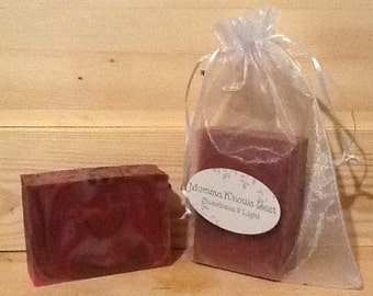 FREE. SHIPPING USA - Sweetness and Light Soap - Cold Process Soap - Artisan Handcrafted Soap - Lemon Soap - Lemongrass Soap - Clary Sage