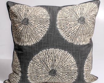 Robert Allen pillow cover,  designer's decorative pillow cover,  throw pillow cover, sofa pillows,