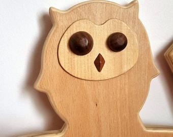 Hanger with Owl - Mastro Déco