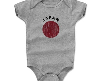Japan Flag R Onesie (AM)