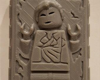 Frozen Lego Han Solo - 3D Printed