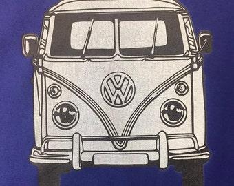 Volkswagen Bus tshirt Hippie