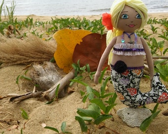 Caribbean Mermaid, Rag Doll