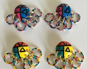 Vintage earrings lot of 2 pairs