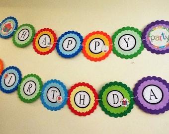 Birthday Banners | Happy Birthday Banner, Custom Birthday Banners, Birthday Party Banners, Personalized Birthday Banners, Party Banners