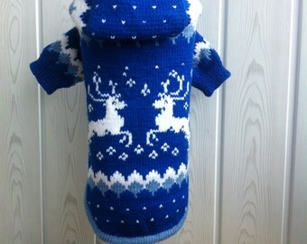 Merry christmas sweater for dog and cats