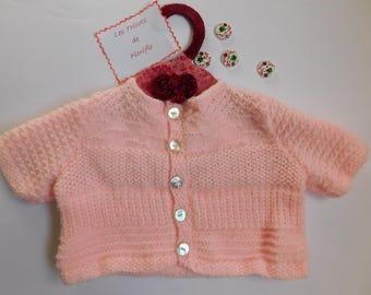 Pink summer vest size 3 months