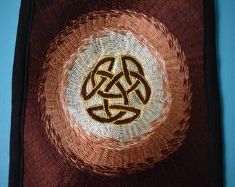 Celtic Knot Snatchel Embroidered