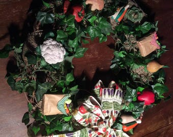 Wreath, Kitchen Themed