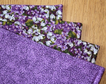 Placemats, Lilac Spring, Set of 4 or 6, 18 x 14