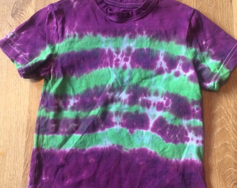 Tie dyed top in 3-4