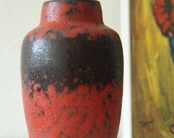 West Germany vase, Fat Lava, by Scheurich