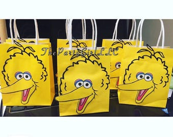 Big Bird Sesame Street Party Bags!(AnyTHEME's Possible-CONVO ME!)