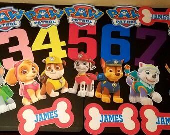 Paw Patrol - 32 Piece Birthday Decorations