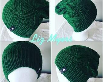 The Winter Hat - Green Grass