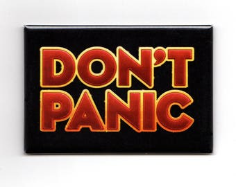 Don't Panic - Hitchhiker's Guide to the Galaxy Magnet