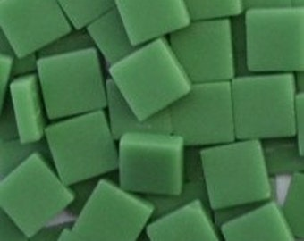 12mm Mosaic Craft Tiles - Spearmint Green Matte - 50g