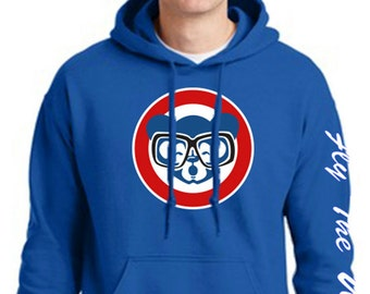 Fly The W Chicago Cubs Hoodie World Champion Series 2016