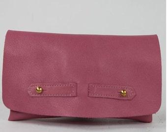 Joke tobacco leather pink