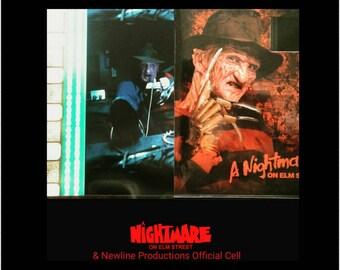 Nightmare On Elm Street Film Cell