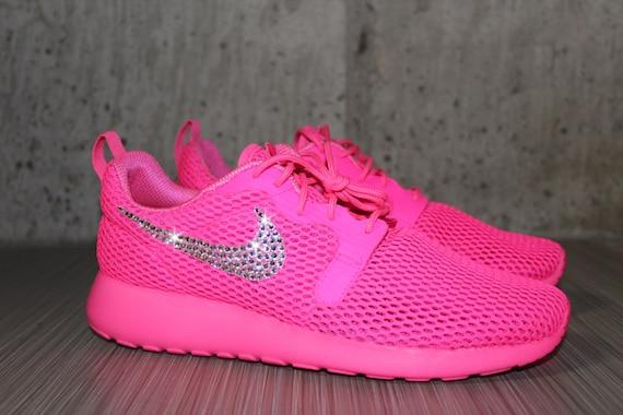 34bcd683c91b on sale Bling Women s Nike Roshe Run Hyper Breathe by DiamondsOnMyFeet