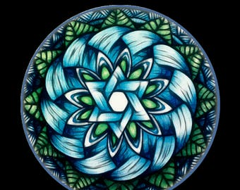 Print - Estrella Azul