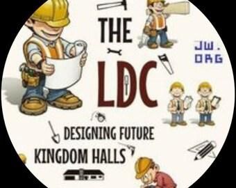LDC Jehovah set of 15 custom pins