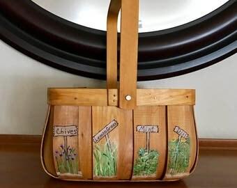 Herb Garden Basket, small