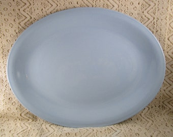 Homer Laughlin Skytone, 1948-1959, Oval Serving Bowl Dish