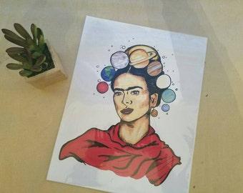Solar Frida Print