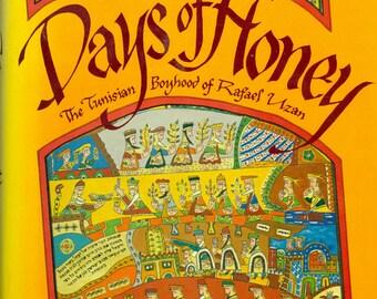 Vintage 1984 book: Days of Honey Hardcover by Irene Awret