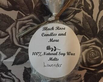Soy Wax Melts, Wax Tarts (Lavender)